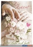 """Glückwunschkarte Hochzeit """"Zur Hochzeit alles Liebe & Gute"""""""