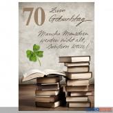 """Glückwunschkarte 70. Geburtstag """"nicht alt, sondern weise!"""""""