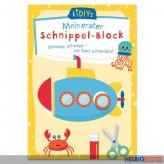 """Kreativ-Bastelbuch """"Mein erster Schnippel-Block"""""""