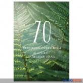 """Glückwunschkarte 70. Geburtstag """"Alles Gute zum Geburtstag"""""""