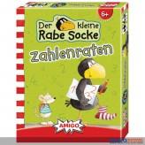 """Kartenspiel """"Der kleine Rabe Socke - Zahlenraten"""""""