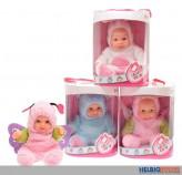 "Baby-Puppe ""Cute Baby"" inkl. Kostüm - 4-sort."