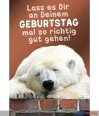 """Glückwunschkarte """"Eisbär"""""""