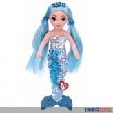 """Ty Flippables - Meerjungfrau """"Indigo blau"""" 91 cm"""