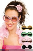 "Glitter-Party-Brille ""Jackie"" - 4-sort."