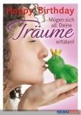 """Glückwunschkarte Geburtstag """"Träume/Froschkönig"""""""