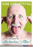 """Glückwunschkarte Geburtstag """"Allerbestes Alter"""""""