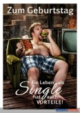 "Glückwunschkarte Geburtstag ""Single"""