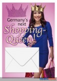 """Glückwunschkarte allgemein """"Germany's Shopping Queen"""""""