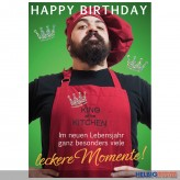 "Glückwunschkarte Geburtstag ""...viele leckere Momente"""