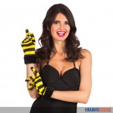 "Handschuhe ""Flotte Honigbiene"""