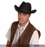 Filz-Cowboyhut - schwarz