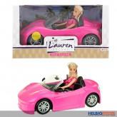 """Modepuppen-Spielset """"Cabrio - Lauren Deluxe"""""""
