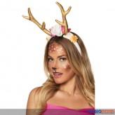 """Haarreif / Tiara """"Rentier - Pretty Reindeer"""""""