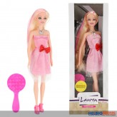 "Modepuppe ""Lauren Deluxe - Fashion Hair"" 30 cm"