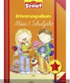 """Scout - Erinnerungsalbum """"Mein 1. Schuljahr"""" - Mädchen rot"""