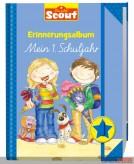"""Scout - Erinnerungsalbum """"Mein 1. Schuljahr"""" - Jungen blau"""