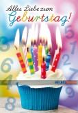 """Glückwunschkarte Geburtstag """"...alles Liebe zum Geburtstag"""""""