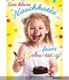 """Glückwunschkarte Kindergeburtstag """"Kleine Naschkatze"""""""