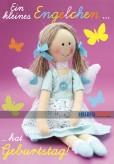 """Glückwunschkarte Kindergeburtstag """"Ein kleines Engelchen"""""""