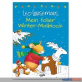 """Malblock """"Mein toller Winter-Malblock - Leo Lausemaus"""""""