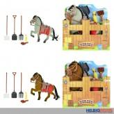 """Pferde-Spielset """"Horses"""" 15 cm - 2-sort."""