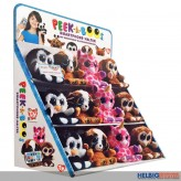"Peek-a-Boos ""Display"" inkl. 30 sort. Peek-a-Boos 15 cm"