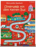 """Mein großes Spurbuch """"Unterwegs mit dem kleinen Bus"""""""