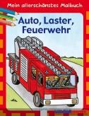 """Mein allerschönstes Malbuch """"Auto, Laster, Feuerwehr"""""""