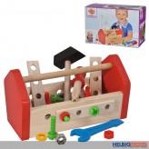 """Holz-Werkzeugbox """"Werkzeugkasten"""" 30-tlg."""
