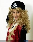 Piratenkappe - schwarz