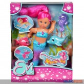 "Evi Love - Puppen-Spielset ""Meerjungfrau/Mermaid"" 2-sort."