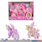 "Spiel-Set ""Sweet Pony Fairy/Einhorn"" 3-sort."