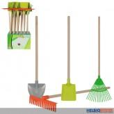 Sand- u. Gartengeräte - mit Holzstiel