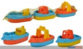 "Boote ""Ferry Boat"" - 3er Set"
