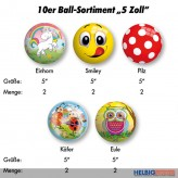 "10er Ball-Sortiment ""5 Zoll"" - 5-sort."