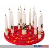 10 Geburtstagskerzen+ 1 Lebenslicht-Set