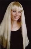 "Perücke ""Cher"" - blond"