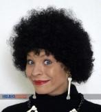 Perücke Afro - schwarz