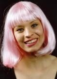 Perücke Foxy - Pagenschnitt - rosa