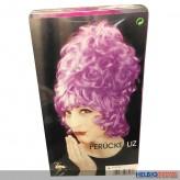 Perücke Liz - Hochsteckfrisur - pink