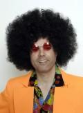 "Perücke ""Jimi Hendrix"" - Afro schwarz"