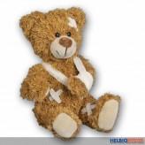"""Plüsch-Bär """"Patienten-Bär verletzt"""" 20 cm"""