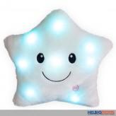 """LED-Leucht-Kissen """"Stern"""" 35 cm - 3-sort."""