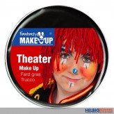 Theater Make-Up / Schminke 25g - schwarz