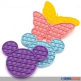 """Bubble Pops Fidget """"Mickey & Schmetterling"""" sort."""