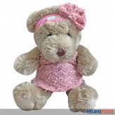 "Plüsch-Bär ""Lady im Kleid"" 18 cm"