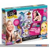 "Kreativ-Spielset ""Crazy Chic - Crazy Tattoos"" App-kompatibel"