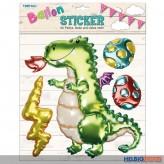"""3D Ballon-Sticker """"Drache/Dinosaurier"""""""