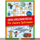 """Kreuzworträtsel-Block """"Jungs & Mädchen"""" - sort."""
